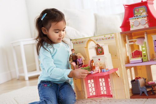 Fisher Price Loving Family 2 In 1 Seasonal Room Set Toys Games Toys Dolls Playsets Toy Figures