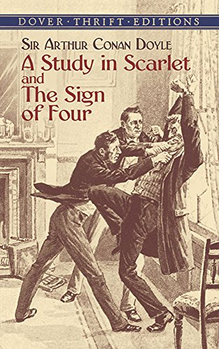 A Study in Scarlet: AND The Sign of Four (Dover Thrift Editions)