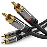 KabelDirekt (10 Feet) 2 X RCA Male To 2 X RCA Male Stereo Audio Cable - PRO Series