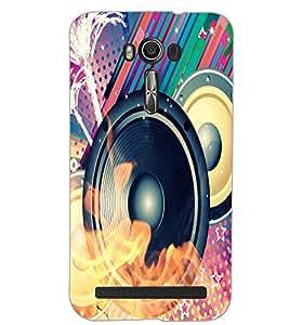 ASUS ZENFONE 2 LASER ZE550KL SPEAKER Back Cover by PRINTSWAG