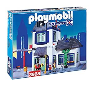 Amazon.com: Playmobil 3988 Set - Large City House with Helicopter Pad