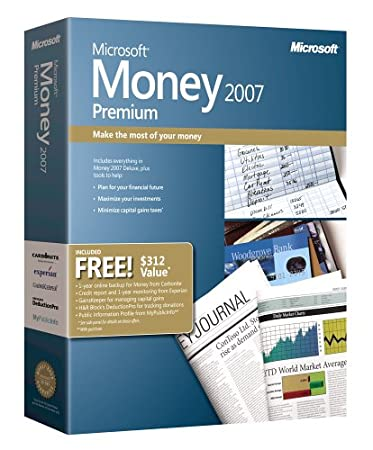 Microsoft Money 2007 Premium [OLD VERSION]