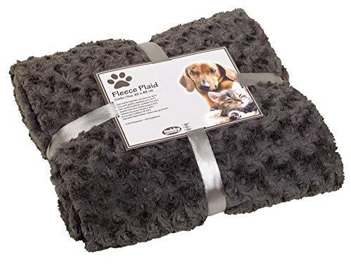 Nobby-70979-01-Fleece-Plaid-Super-Soft-grau-S-60-x-85-cm
