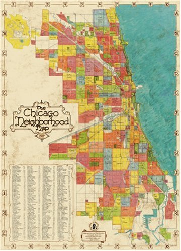 Chicago Neighborhood Map Second Edition (Maps & Atlases)