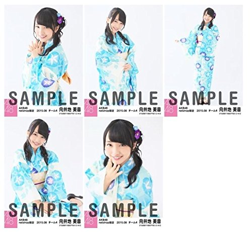 AKB48 2015年8月度 net shop限定個別生写真5枚セット 【向井地美音】