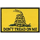 Hot Leathers Don'T Tread On Me Patch (4