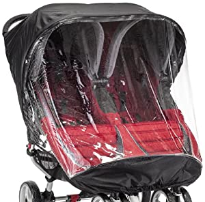 Baby Jogger City Mini Single Rain Canopy PVC Free