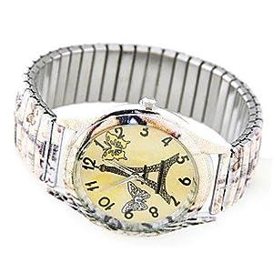 LT Women's Fashion Casual Graffiti Stretch Watches