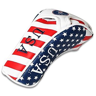 Craftsman Golf Stars and Stripes American USA US Flag Fairway Wood Headcover Head Cover Titleist Taylormade Callaway Mizuno Cobra Ping Adams Nike