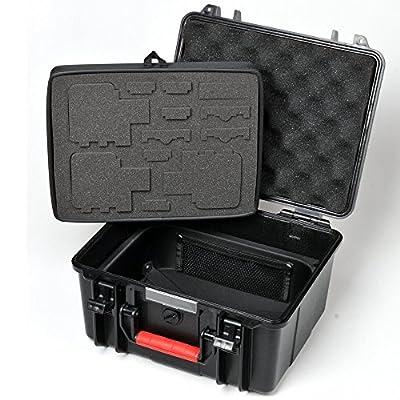 Smatree® Floaty SmaCase GA700-3 Wasserdichte Rugged Hard Taschen für GoPro Kamera Hero 4, Hero 3+, Hero 3, Hero 2 HD Kamera
