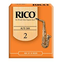 Rico Alto Sax Reeds, Strength 2.0, 10-pack by Rico