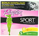 Playtex Sport Multipack Fresh Scent, 36 Count