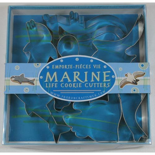 Fox Run Marine Life Cookie Cutter Set