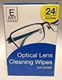 Opticlear lens Wipes 6 X Packs of 24 Wipes