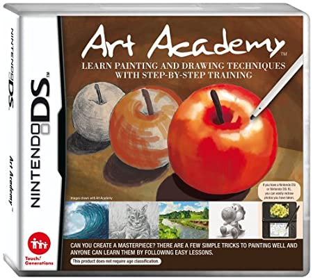 Art Academy: Learn Painting and Drawing Techniques with Step-by-Step Training (Nintendo DS)