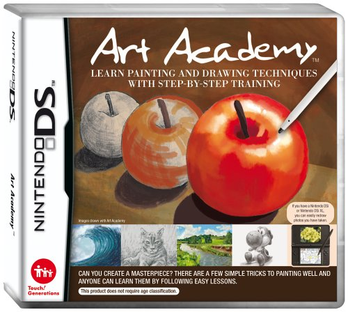 Art Academy: Learn Painting and Drawing Techniques (Nintendo DS)
