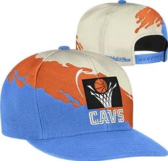 TEST Mitchell & Ness The Boston Celtics Paintbrush Snapback Hat by Mitchell & Ness