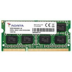 ADATA 8GB LAPTOP RAM LOW VOLTAGE