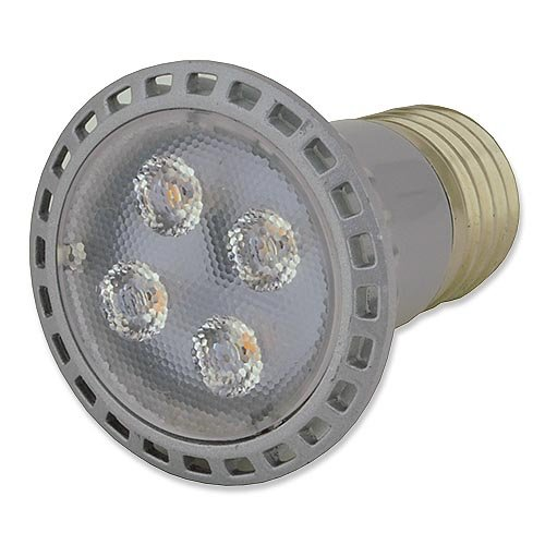 Ledwholesalers Dimmable Par16 Led 5 Watt Narrow Spot 30° E26 Base Light Bulb, Warm White, 1351Ww