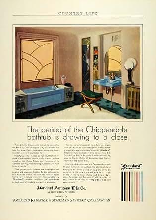 Amazon Com 1930 Ad Standard Sanitary Plumbing Fixture
