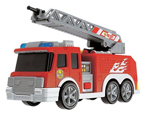 Dickie Spielzeug 203443574 - Modellino camion dei pompieri Action Series, lunghezza 15 cm, colore: Rosso