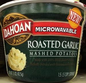 Amazon.com : Idahoan Microwavable ROASTED GARLIC MASHED