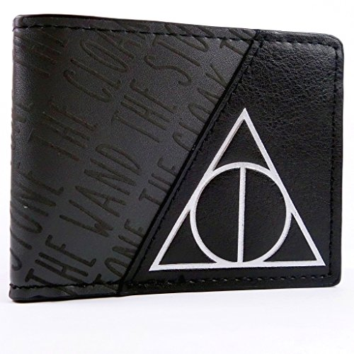 Warner Bros Harry Potter Deathly Hallows Nero portafoglio