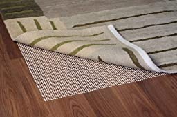 Grip-It Ultra Stop Non-Slip Rug Pad for Rugs on Hard Surface Floors, 2 by 8-Feet, Natural