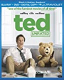 Ted (Unrated Blu-ray + DVD + Digital Copy + UltraViolet)