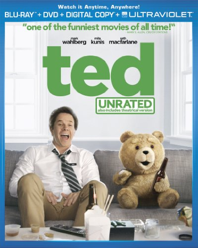 51PBKn35PiL Ted (Two Disc Combo Pack: Blu ray + DVD + Digital Copy + UltraViolet)