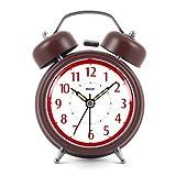 Modern Fashion Lovely Colorful Metal Alarm Clock Brown 921