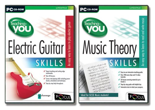 Teaching-You Electric Guitar Skills Double Pack [Import Anglais]
