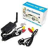 CarOver WIFI 接続 スマートフォンバックカメラ 無線 ガイドライン表示 動画 録画 簡単設置 12V CO-WIFI-B-CAM