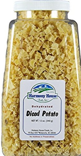 Harmony House Foods Dried Potato, diced (12 oz,