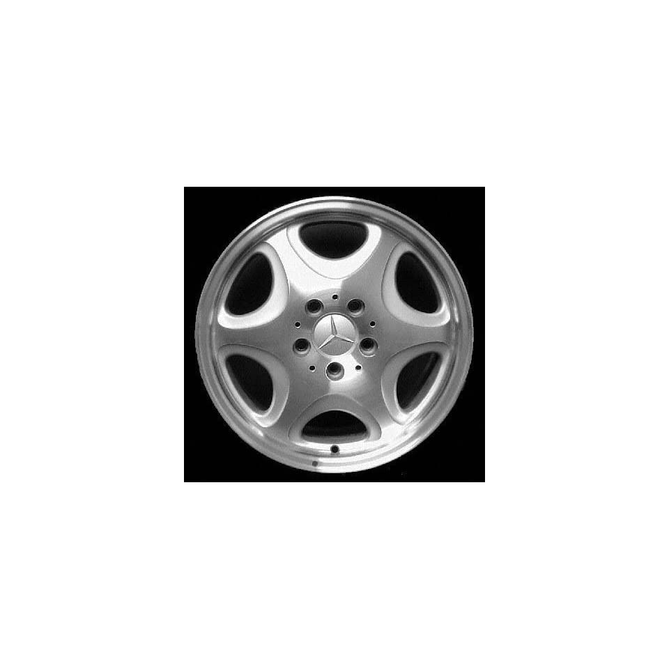 98 99 MERCEDES BENZ S600 s 600 ALLOY WHEEL RIM 16 INCH, Diameter 16, Width 7.5 (6 HOLE), MACHINED FINISH, 1 Piece Only, Remanufactured (1998 98 1999 99) ALY65191U10