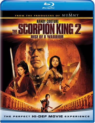Cover art for  The Scorpion King 2: Rise of a Warrior [Blu-ray]