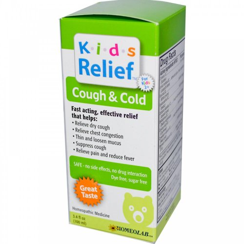 Kids Relief, Cough & Cold, For Kids 2+, 3.4 fl oz (100 ml)