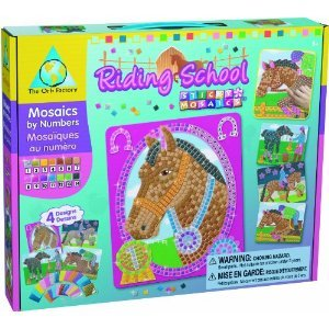 Sticky Mosaics Craft Kit - Riding School