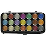 Yasutomo Pearlescent Watercolor Set, 21-Colors