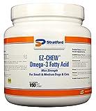 EZ-Chew Omega-3 Max Strength Soft Chews for Small & Medium Dogs 150