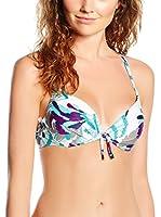 Chantelle Sujetador de Bikini Lisala (Cielo / Multicolor)