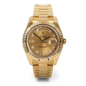 Rolex Day-date Ii 2 President Yellow Gold Watch Fluted 218238 Box/papers Unworn 2014 by ROLEX