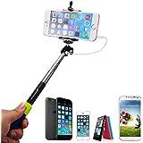 XCSOURCE Extendable Selfie Stick Handheld Monopod Blue