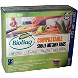 BioBag, Small Kitchen Bags, 10 Litre, 48 Count