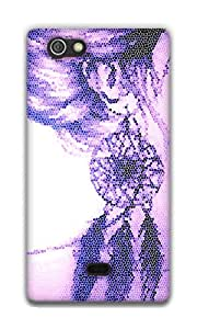 The Racoon Lean Dream Catcher hard plastic printed back case / cover for Sony Xperia Miro