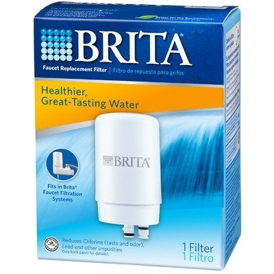 Chrome 1 Count Brita On Tap Faucet Water Filter System Replacement Filters