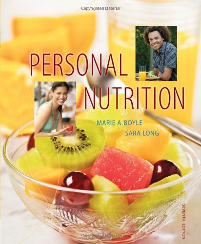 Personal Nutrition (Available Titles Coursemate)