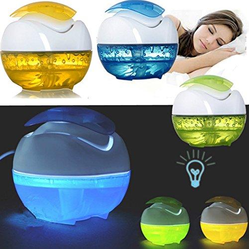 NIUDB New Mini USB Humidifier Fresh Air Purifier Moistener Steam Diffuser Night Light (Steam Air Purifier compare prices)