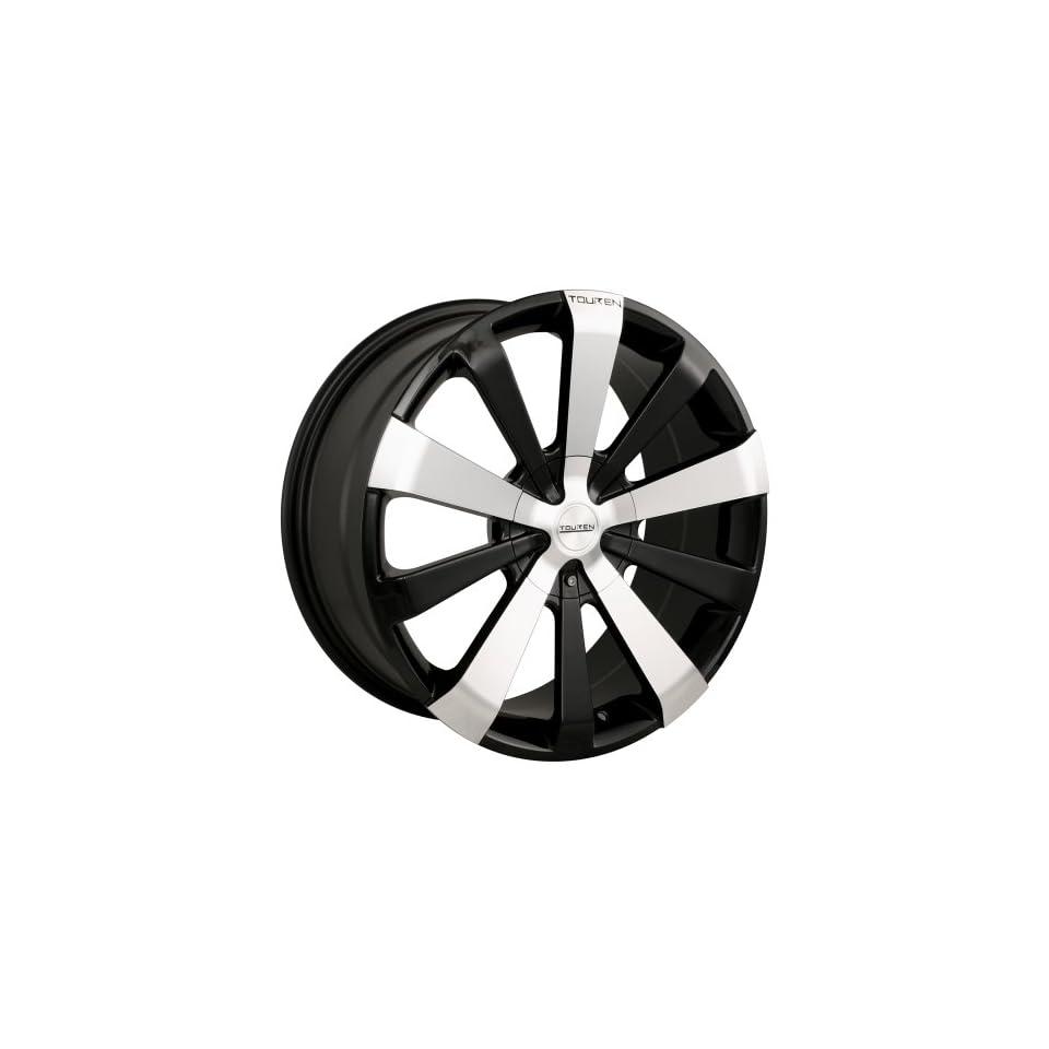 17x8 Touren TR2 (3120) (Black w/ Machined Face) Wheels/Rims 5x112/120 (3120 7809M)