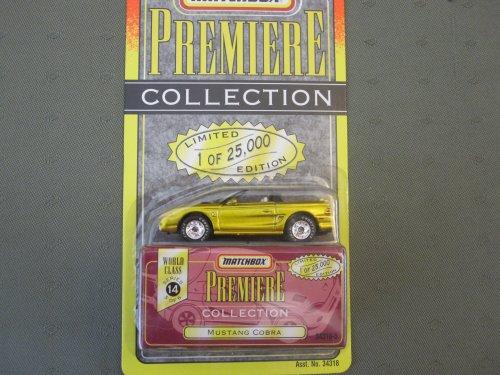 Matchbox Premiere Mustang Cobra Series 14 (34318) - 1